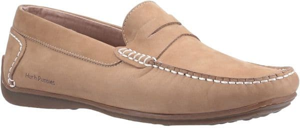 Hush Puppies Roscoe Slip On Mens Shoes Beige